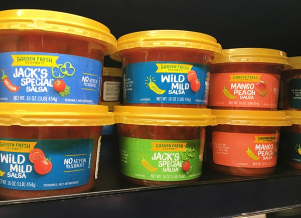 Garden Fresh salsas. - LEE DEVITO