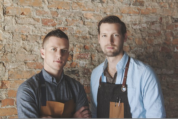 Grey Ghost chefs John Vermiglio and Joe Giacomino. - COURTESY PHOTO
