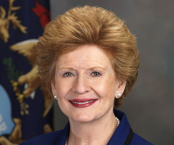 Sen. Debbie Stabenow. - PRESS PHOTO