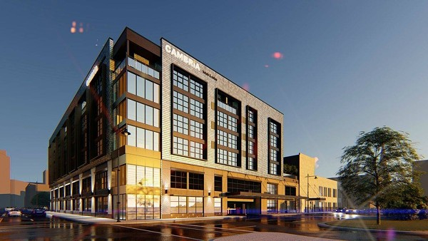 RENDERING OF THE CAMBRIA (CHOICE HOTELS)