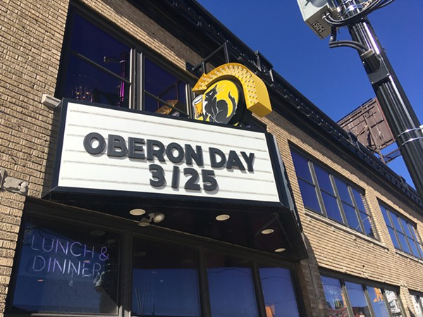 Detroit's HopCat celebrated Oberon Day on Monday, March 25. - LEE DEVITO