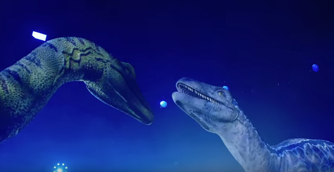 Still from Jurassic World Live's official trailer - YOUTUBE/SCREEN GRAB