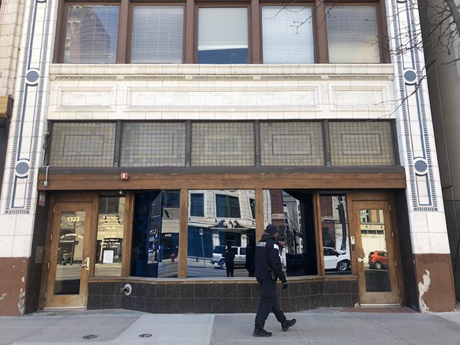 As of Wednesday, the former space of Red Bull Radio appears vacant. - WILL FEUER