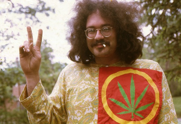 John Sinclair in Ann Arbor in 1968. - LENI SINCLAIR