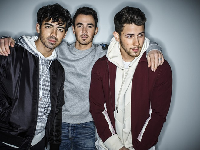 The Jonas Brothers. - PEGGY SIROTA