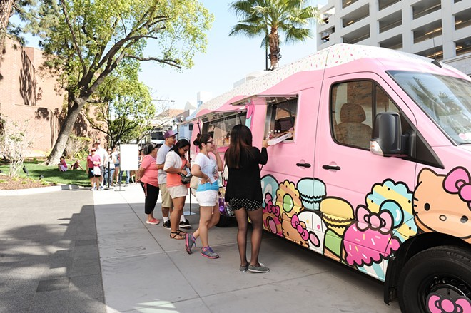 COURTESY OF THE HELLO KITTY CAFE TRUCK