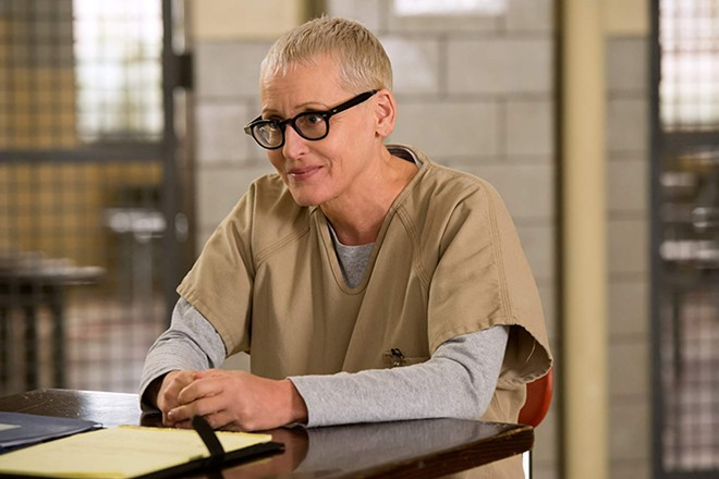 Lori Petty in Orange Is the New Black. - JOJO WHILDEN/NETFLIX