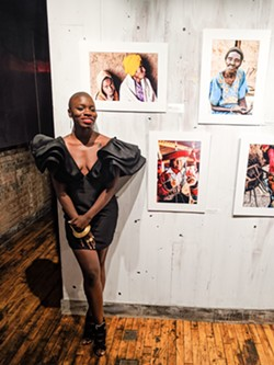 World traveler Jessica Nabongo celebrated her homecoming with a photography exhibition of her travels at Galleri 2987. - COURTESY OF JESSICA NABONGO