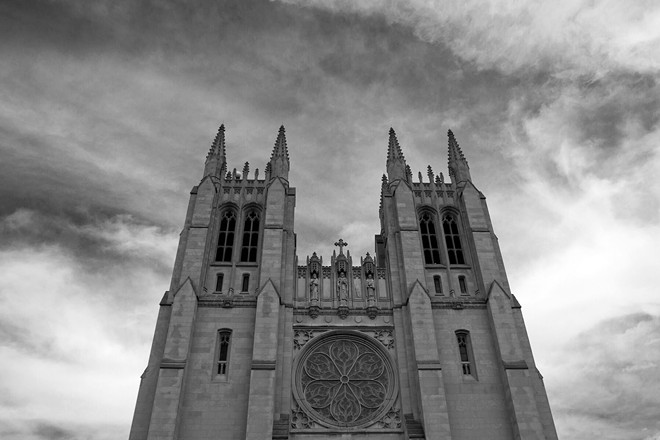 A Catholic Church in Detroit. - STEVE NEAVLING