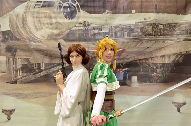 Leia and Link. - MIKE PFIEFFER