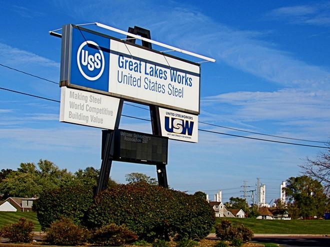 U.S. Steel's Great Lakes facility. - SHUTTERSTOCK