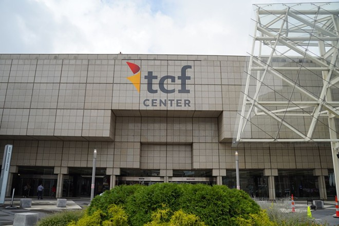 The convention center formerly known as Cobo Center. - COURTESY OF TCF CENTER