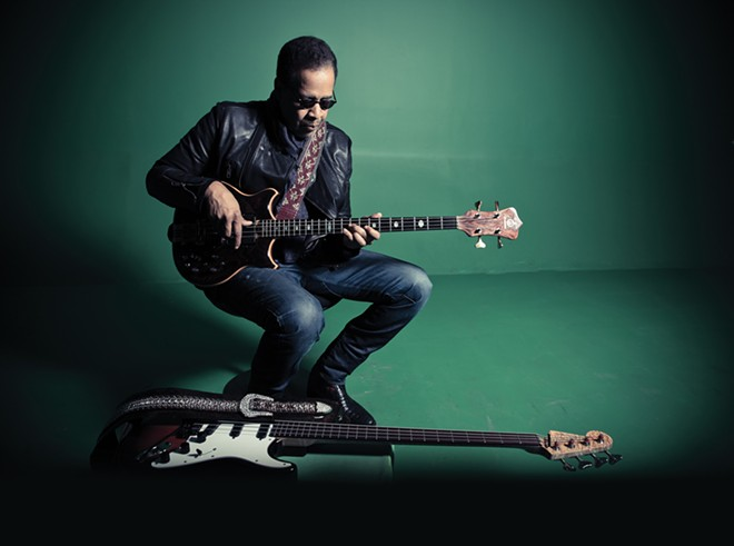 You can catch bassist Stanley Clarke three different times at this year's Jazz Fest. - RAJ NAIK