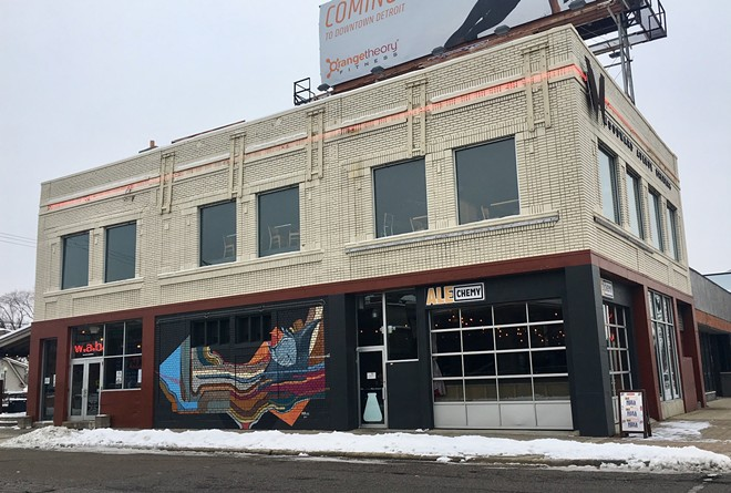 The WAB's Alechemy Room is now serving coffee and booze in Ferndale
