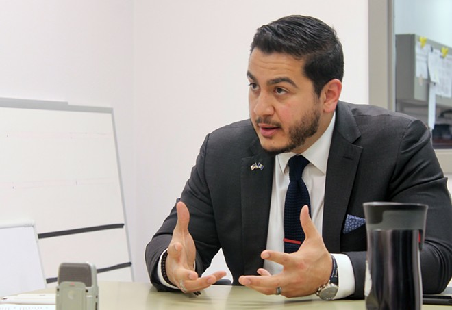 Abdul El-Sayed. - TOM PERKINS