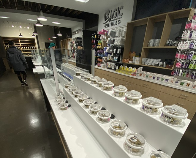 Ann Arbor's Exclusive Brands became the first store in Michigan to be granted a license to sell recreational marijuana. It has since been followed with Greenstone and Arbors Wellness, both also in Ann Arbor. - COURTESY OF EXCLUSIVE BRANDS