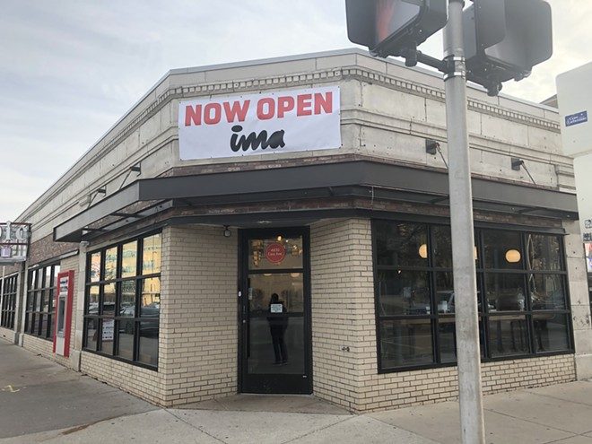 A new Ima restaurant takes over the space at the former Sweet Lorraine's Fabulous Mac n' Brewz at Cass and Warren. - LEE DEVITO