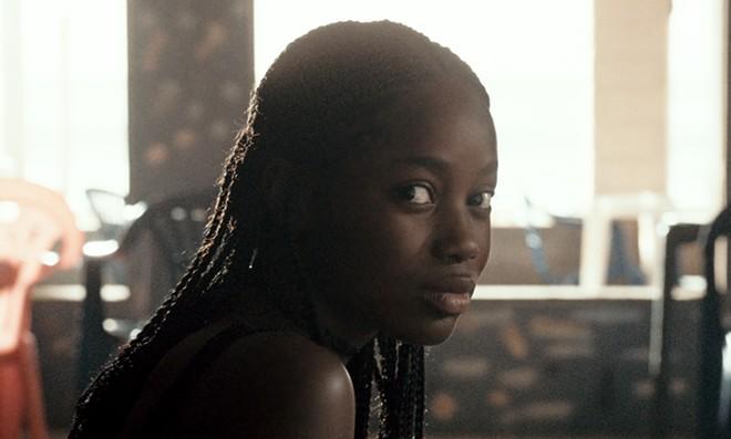 Ada (Mame Bineta Sane) in Netflix's Atlantics. - NETFLIX