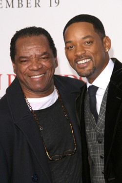John Witherspoon with Fresh Prince star Will Smith. - SHUTTERSTOCK.COM