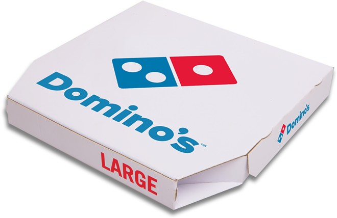 $30 for this? - COURTESY OF DOMINO'S