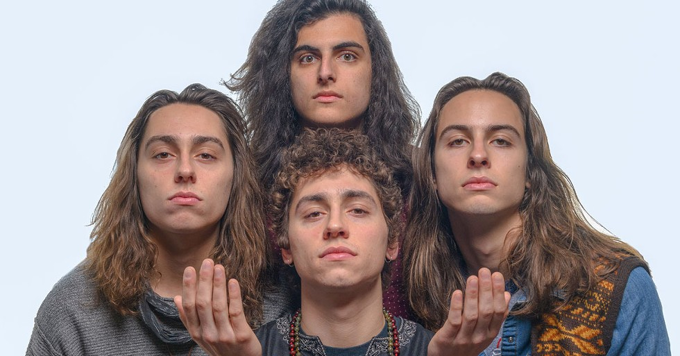 Greta Van Fleet are here to tell you that you've obtained nirvana. - PHOTO BY DOUG COOMBE FOR METRO TIMES