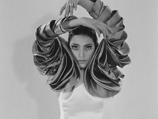 Benedetta Barzini during her modeling days. - COURTESY KINO LORBER