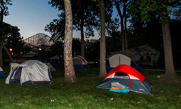 SCREENSHOT, CEDAR POINT COASTER CAMPOUT FACEBOOK