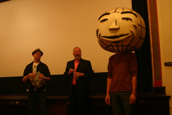 From left: Rob St. Mary, Jerry Vile, and Orby. - ERIK MALUCHNIK