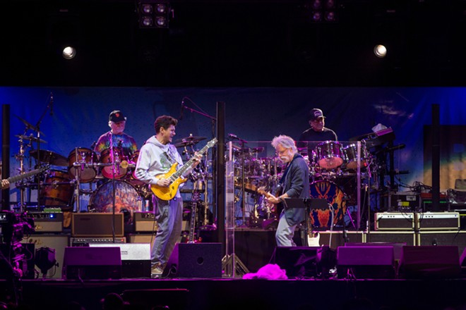 John Mayer performing with Dead & Company. - STERLING MUNKSGARD/SHUTTERSTOCK