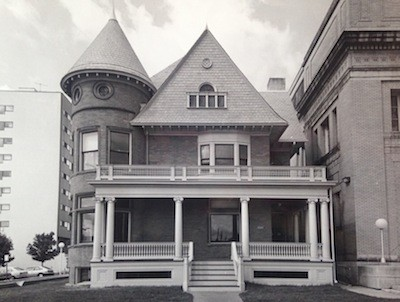 Mackenzie House in the 1980s. - COURTESY PRESERVATION DETROIT
