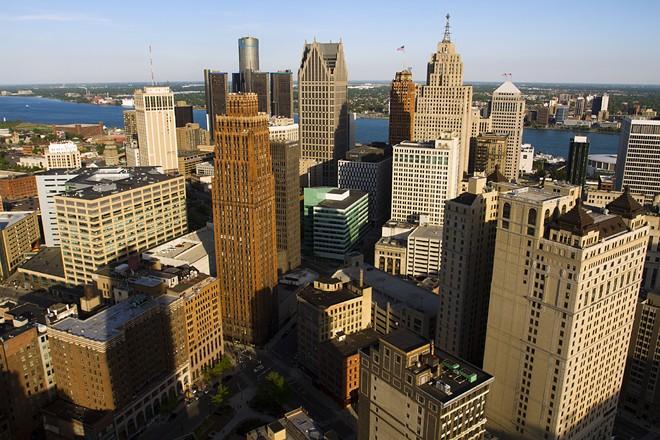 Downtown Detroit. - STEVE NEAVILNG