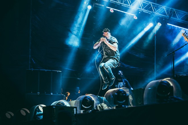 Frontman Chino Moreno of Deftones. - YULIA GRIGORYEVA, SHUTTERSTOCK