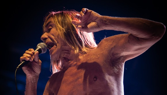 """""""Iggy & The Stooges @ Bsf 2012 (7855853088)"""" by Eddy BERTHIER from Brussels, Belgium - Iggy & The Stooges @ Bsf 2012Uploaded by High Contrast. Licensed under CC BY 2.0 via Commons"""
