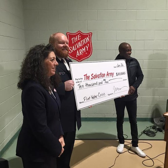 Midtown school gets help from Detroit-native R&B artist Kem for Flint fundraiser - PHOTO COURTESY SALVATION ARMY OF MICHIGAN, EASTERN DIVISION