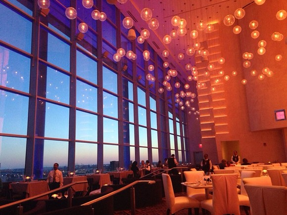 Iridescence in MotorCity Casino - PHOTO COURTESY OF YELP USER MICHELLE N.
