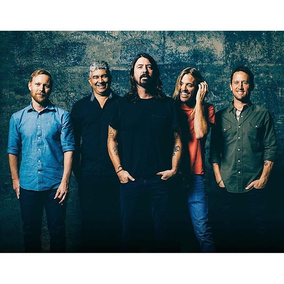 PHOTO BY INSTAGRAM USER @FOOFIGHTERS