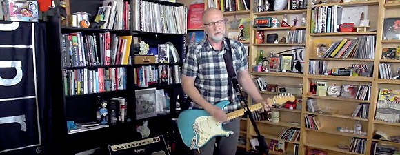 This is Bob Mould playing one of these in 2014.