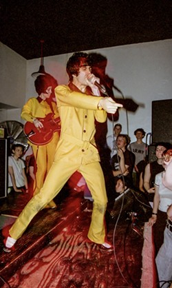 The Make-Up performing at The Green Room in Ypsialnti (now Ziggy's)  in 1996. - DOUG COOMBE