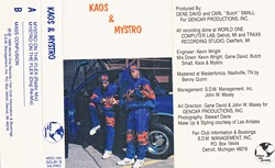 """Detroit's rap roots are obscure, but worth finding, such as Kaos & Mystro's """"Mystro on the Flex."""""""