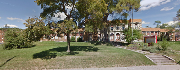 The former Webster Elementary School in Pontiac. - PHOTO FROM GOOGLE STREET VIEW