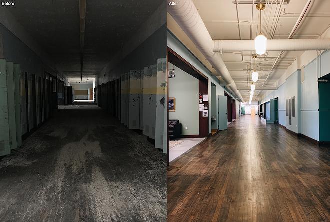 The new Detroit Prep restored the former Anna M. Joyce Elementary School. - PHOTO COURTESY OF CHEF'S SCHOOLYARD