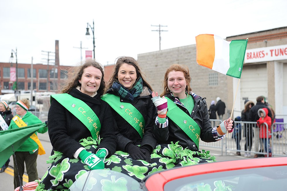 The 62nd Annual Detroit St. Patrick's Parade begins at 1 p.m. on Sunday, March 15 at Sixth Street and Michigan Avenue, Detroit; detroitstpatricksparade.com; event is free and open to the public. - COURTESY OF THE ST. PATRICK'S DAY PARADE