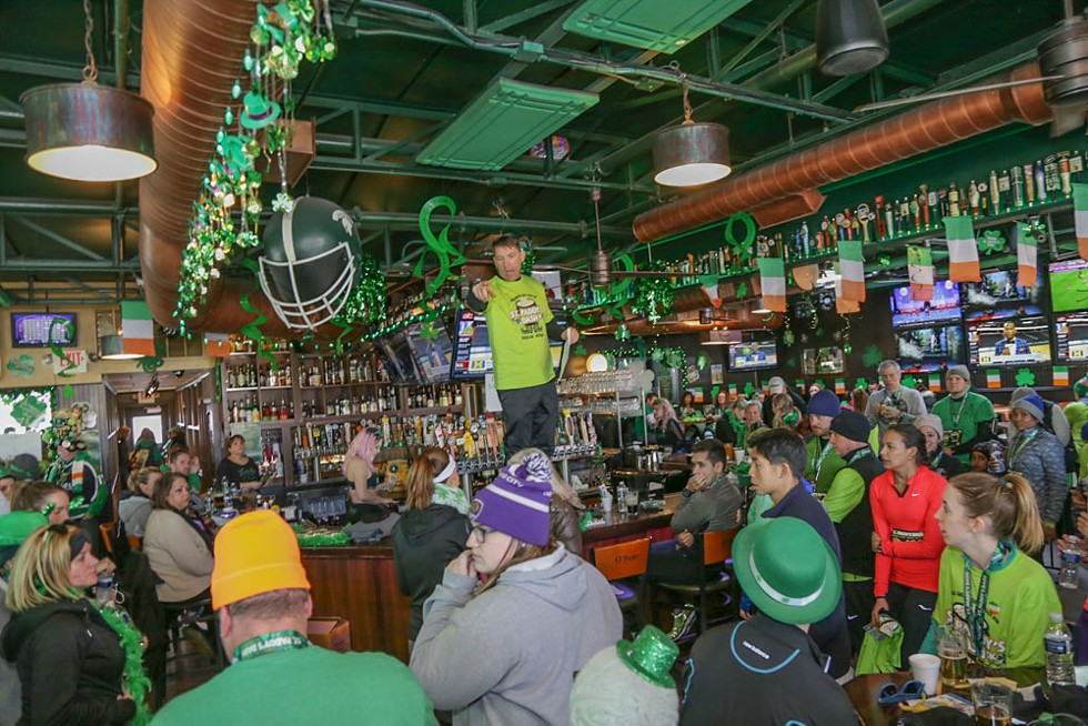 St. Practice Day Bar Crawl begins at 1 p.m. on Saturday, March 14 in downtown Royal Oak; royaloakbarcrawls.com. Tickets are $25. - DONTAE ROCKYMORE