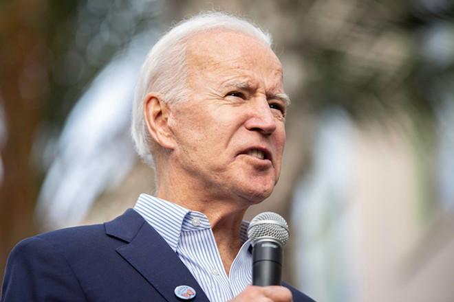 Joe Biden. - SHUTTERSTOCK