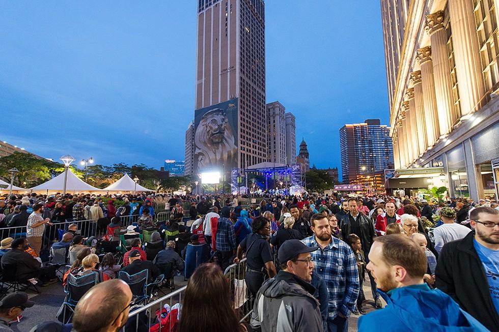 Detroit Jazz Festival. - COURTESY OF DETROIT JAZZ FESTIVAL