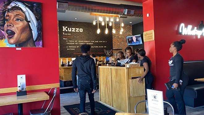 COURTESY OF KUZZO'S CHICKEN AND WAFFLES