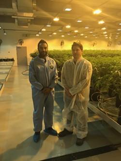 Ankur Rungta and Joel Ruggiero of C3 Industries. - LARRY GABRIEL