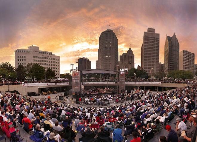 Detroit International Jazz Festival. - PHOTO BY LEN KATZ