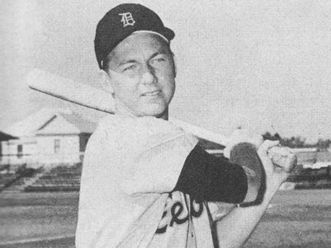 Al Kaline in his official 1957 Detroit Tigers photo. - WIKIMEDIA CREATIVE COMMONS, PUBLIC DOMAIN