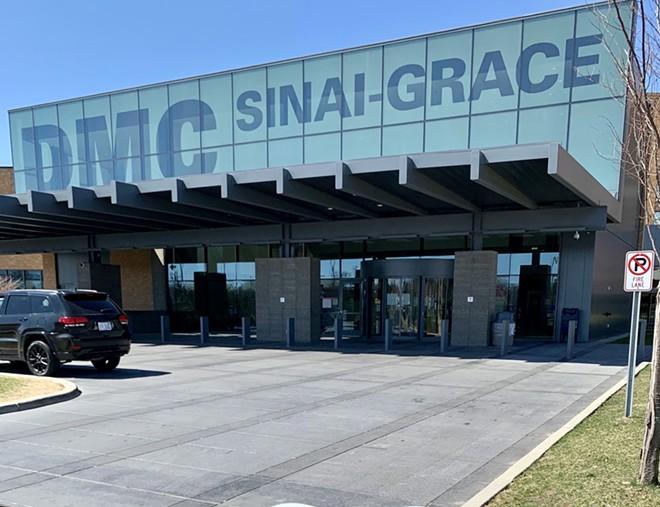 Sinai-Grace Hospital in Detroit. - KENISA BARKAI